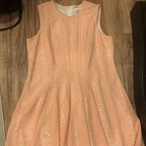 Calvin Klein Laser Cut Dress